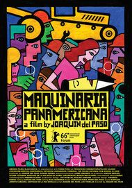 "Movie poster for ""MAQUINARIA PANAMERICANA"""
