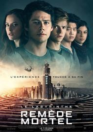 "Movie poster for ""MAZE RUNNER : THE DEATH CURE"""