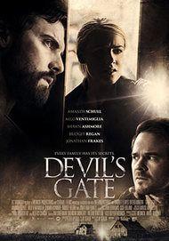 "Movie poster for ""DEVIL'S GATE"""