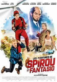 "Movie poster for ""LES AVENTURES DE SPIROU ET FANTASIO"""