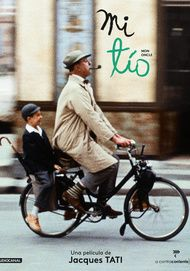 "Movie poster for ""MON ONCLE"""
