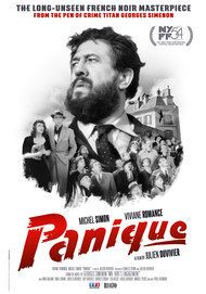 "Movie poster for ""PANIQUE"""