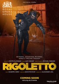 "Movie poster for ""RIGOLETTO - Royal Opera House 2017-18"""