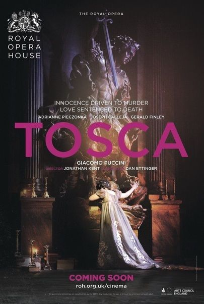 """Movie poster for """"TOSCA - Royal Opera House 2017-18"""""""