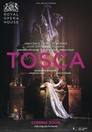"Movie poster for ""TOSCA - Royal Opera House 2017-18"""