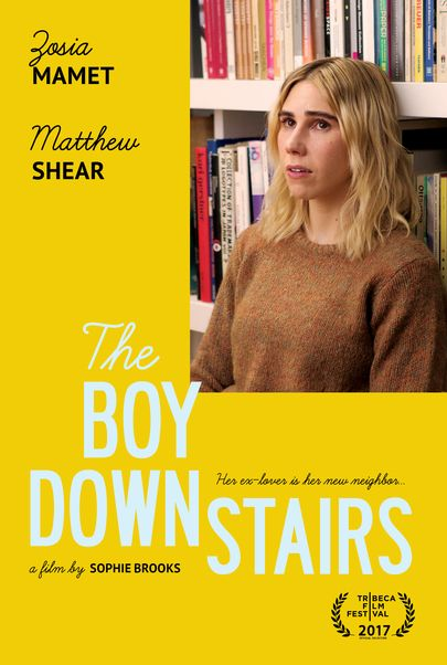"Movie poster for ""THE BOY DOWNSTAIRS"""