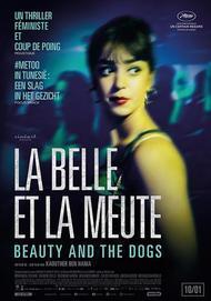 """Affiche du film """"LA BELLE ET LA MEUTE"""""""