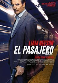 """Movie poster for """"THE COMMUTER"""""""