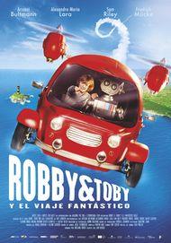 """Póster para """"Robby & Toby y el viaje fantástico"""""""