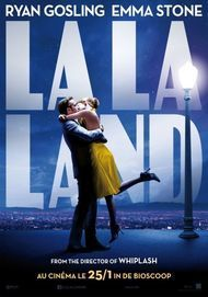 "Movie poster for ""LA LA LAND"""