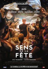 """Affiche du film """"LE SENS DE LA FETE"""""""