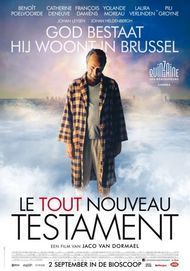 """Movie poster for """"THE BRAND NEW TESTAMENT"""""""