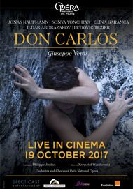 "Movie poster for ""DON CARLOS - ONP"""