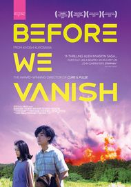 "Movie poster for ""BEFORE WE VANISH"""