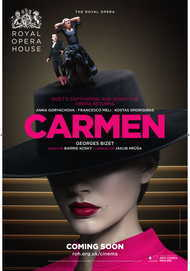 "Movie poster for ""CARMEN - ROYAL OPERA HOUSE 2017-18"""