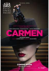 "Movie poster for ""CARMEN - ROYAL OPERA HOUSE 2017-18"""