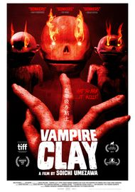 "Movie poster for ""VAMPIRE CLAY"""