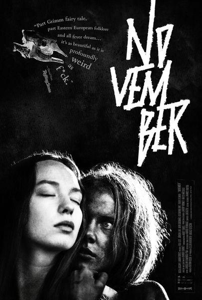 """Movie poster for """"NOVEMBER"""""""