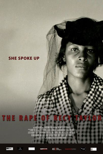 """Movie poster for """"THE RAPE OF RECY TAYLOR"""""""