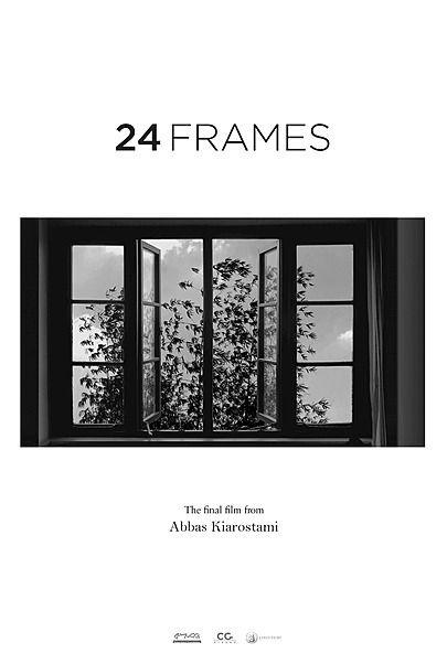"""Movie poster for """"24 FRAMES"""""""