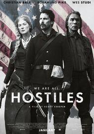 """Movie poster for """"HOSTILES"""""""