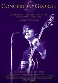 "Movie poster for ""CONCERT FOR GEORGE"""