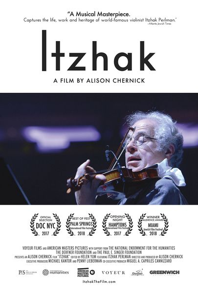 "Movie poster for ""ITZHAK"""