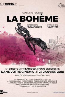 """Movie poster for """"LA BOHEME (RAI/DEAN MEDIAS)"""""""