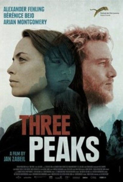 "Movie poster for ""THREE PEAKS"""