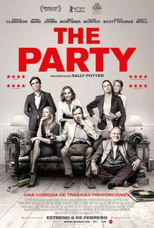 "Movie poster for ""THE PARTY"""