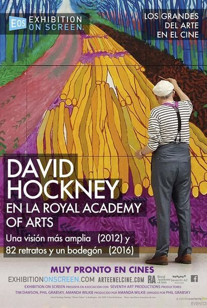 "Póster para ""DAVID HOCKNEY EN LA ROYAL ACADEMY OF ARTS"""