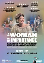 "Movie poster for ""A WOMAN OF NO IMPORTANCE"""
