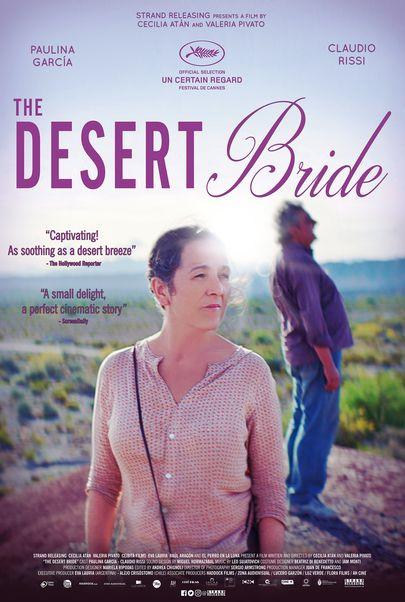 """Movie poster for """"THE DESERT BRIDE"""""""