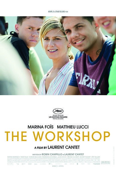 """Movie poster for """"THE WORKSHOP"""""""