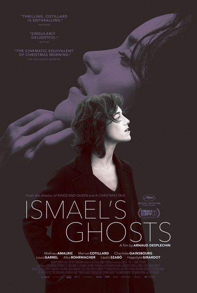"Movie poster for ""ISMAEL'S GHOSTS"""