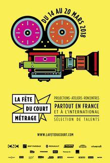 """Movie poster for """"LA FETE DU COURT"""""""
