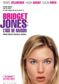 "Movie poster for ""BRIDGET JONES : THE EDGE OF REASON"""