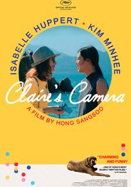 "Movie poster for ""CLAIRE'S CAMERA"""
