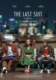 """Movie poster for """"THE LAST SUIT"""""""