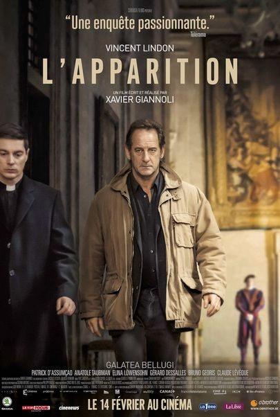 "Movie poster for ""THE APPARITION"""