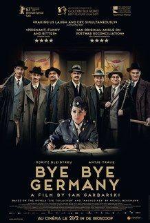 """Affiche du film """"BYE BYE GERMANY"""""""