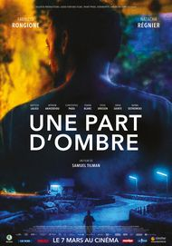 "Movie poster for ""UNE PART D'OMBRE"""
