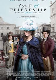 """Filmplakat für """"Love and Friendship"""""""