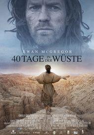 """Filmplakat für """"40 Tage in der Wüste"""""""