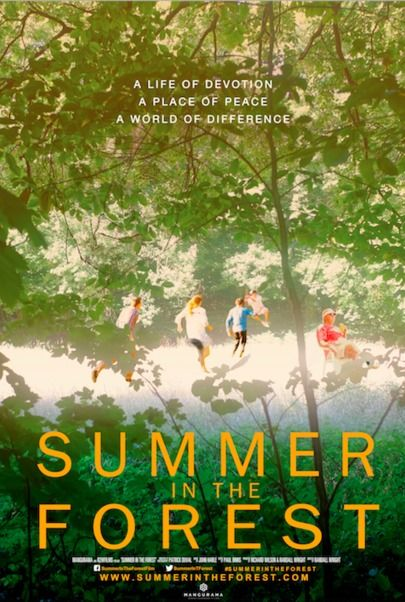 """Movie poster for """"SUMMER IN THE FOREST"""""""