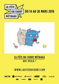 """Movie poster for """"LA FETE DU COURT - QUI VOILA"""""""