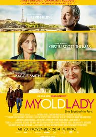 "Movie poster for ""My Old Lady"""