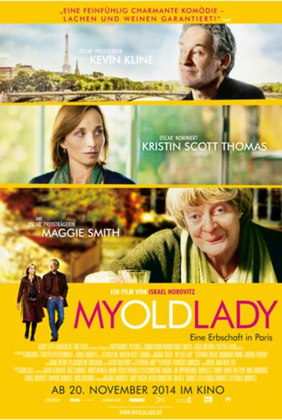 "Filmplakat für ""My Old Lady"""