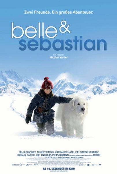 """Filmplakat für """"Belle & Sebastian"""""""
