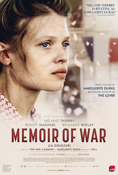 "Movie poster for ""MEMOIR OF WAR"""